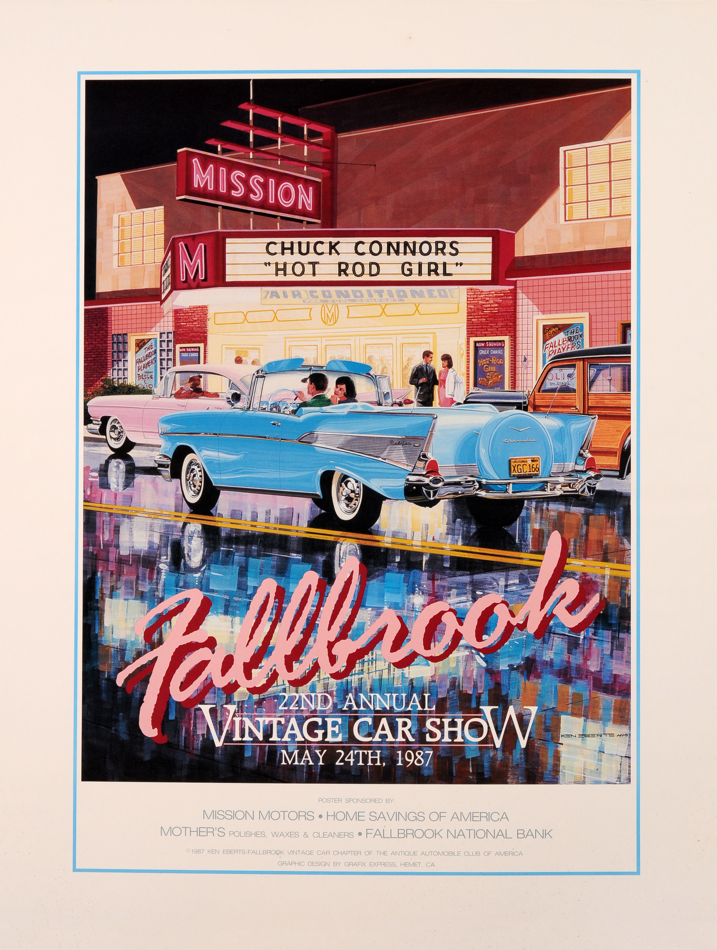 1987 Mission Theatre – Fallbrook Vintage Car Club