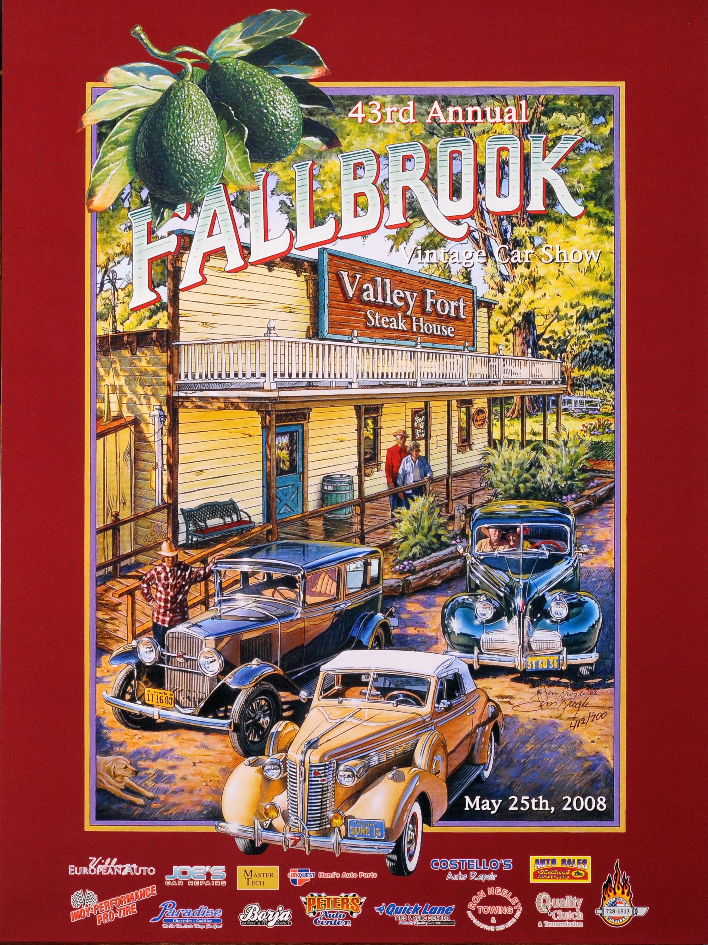 2008 The Valley Fort Steak House – Fallbrook Vintage Car Club