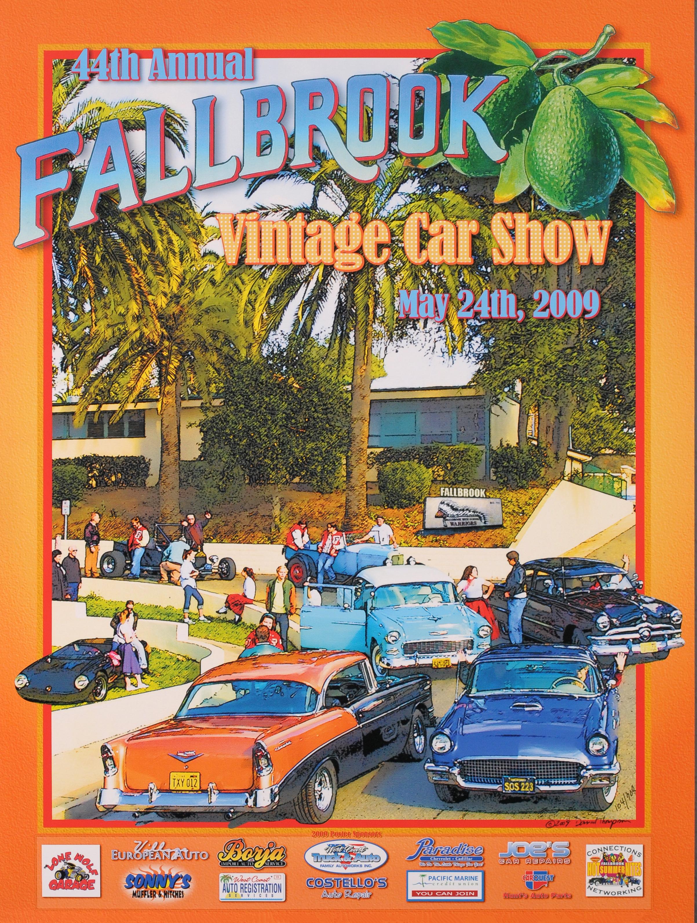2009 Old Fallbrook High School – Fallbrook Vintage Car Club