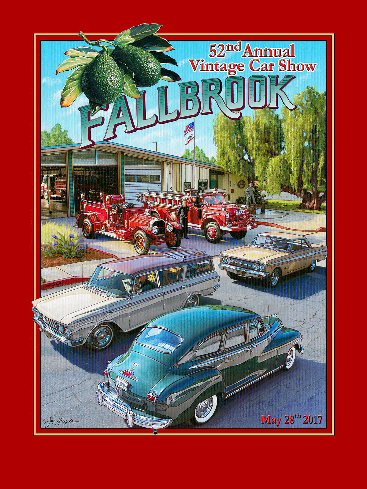 Fallbrook Vintage Car Show\'s 53rd Annual Car Show Registration ...